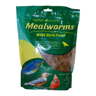 Dried mealworms for birds 7 ounce bag