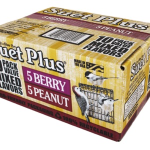 Suet Plus Mixed Flavor Peanut and Berry 10 Pack